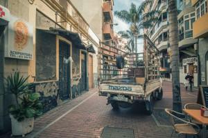 Straßen von Las Palmas