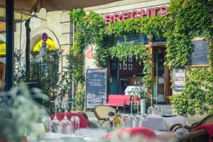 Brechts Steakhaus Terrasse
