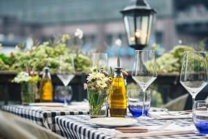 Brechst Steakhaus Terrasse